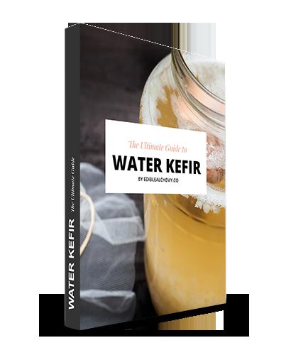 Water Kefir Guide Cover