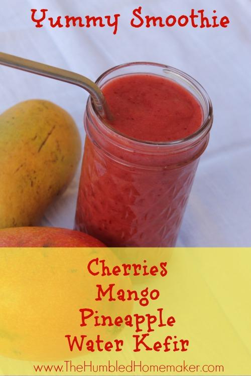 Cherry Mango Smoothie
