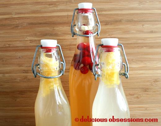 Water Kefir Bottles
