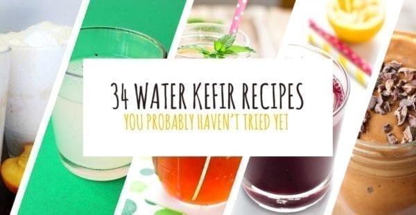 water kefir recipes