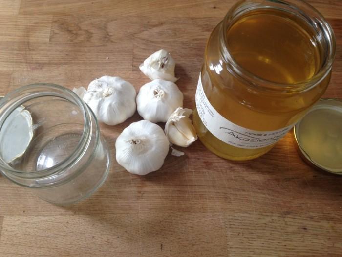 honey garlic