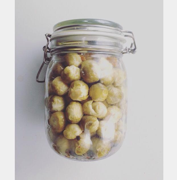 lacto fermented smoked brussel sprouts edible alchemy
