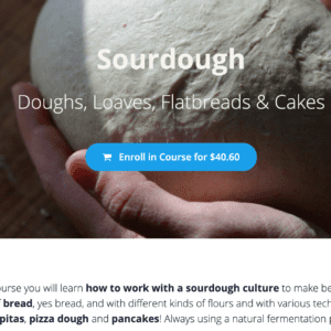 sourdough online course page EA